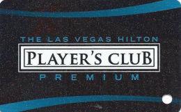 Las Vegas Hilton Casino - 20th Issue Slot Card (BLANK) - Casino Cards