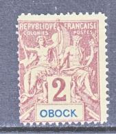 OBOCK  33  * - Unused Stamps
