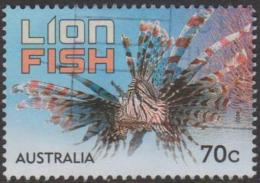 AUSTRALIA - USED 2014 70c Stamp Collecting Month - Things That Sting - Lion Fish - Usati