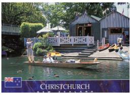 (333) New Zealand - Christchurch River Boat Ride (gondola) - Ohne Zuordnung