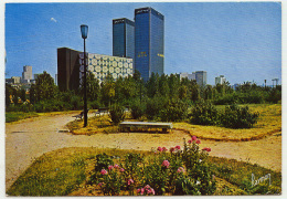 BAGNOLET Le Central Téléphonique Et Les Tours Mercuriales, Datée 1990 - Bagnolet