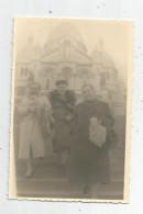 Cp , CARTE PHOTO , 75 , PARIS , Le SACRE COEUR , écrite - Sacré-Coeur