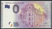 Billet Touristique  0 Euro 2015  Château Royal De Blois - EURO