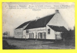 "WATERLOO ☼ Café Restaurant "" Belle Alliance "" ☼ Vieilles Pub "" Sauce HEINZ, AULD REEKIE "" - Waterloo"