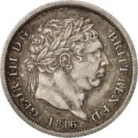 Grande-Bretagne, George III, Shilling, 1816, TTB+, Argent, KM:666 - 1816-1901 : Frappes XIX° S.