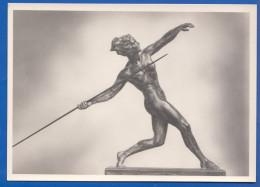 Kunst; Tank W.; Speerwerferin - Skulpturen