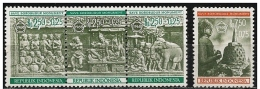 Indonesia/Indonésie: Tempio Di Borobudur, Temple De Borobudur, Borobudur Temple - Buddhismus