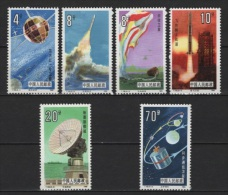 China (1986) Mi. 2046/51 /  Espace - Space - Planet - Spaceship - Satellite - Azië