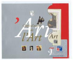 Philexfrance 1999 150 Ans Du Timbre - 2 Blocs BF 23 - Chefs D'oeuvre Du Louvre, Joconde, Vénus De Milo, Liberté + Passes - Blocs & Feuillets