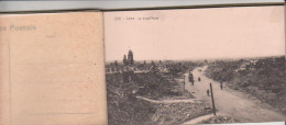 CARNET DE 10 CPA  LENS  Les Ruines De 1914 - 1918 - Lens