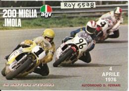 Imola 200 Miglia Di Imola 1976 (vedi Scritta Retro) - Motociclismo