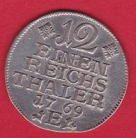 Allemagne - Prusse 1/12 Thaler 1768 E - Argent - TTB - Other