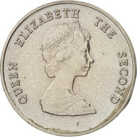 Etats Des Caraibes Orientales, Elizabeth II, 25 Cents, 1981, SUP, KM:14 - Caraïbes Orientales (Etats Des)