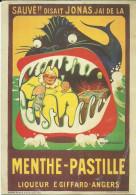 JONAS DANS LE VENTRE DE LA BALEINE(AFFICHE) 1925(ANGERS MAINE ET LOIRE) - Advertising