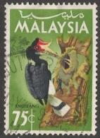 Malaysia. 1965 Birds. 75c Used. SG 23 - Malaysia (1964-...)