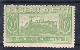 FRANCE1901.YVERT Nº 10.  10 CENT. RÉSEAU D´ÉTAT .NEUF SANS GOMME . FR199 - Colis Postaux