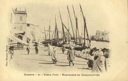 TUNISIE - BIZERTE - Vieux Port - Marchande De Gargoulettes - Tunisia