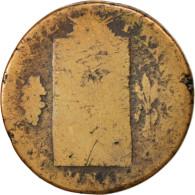 France, ½ Sol Aux Balances, 1793, La Rochelle, B, Bronze, KM:618.1, Gadoury 10 - 1789 – 1795 Monedas Constitucionales