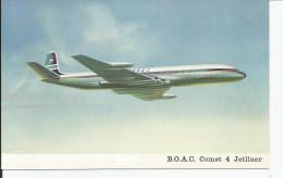 B.O.A.C   Comet 4 Jetliner - 1946-....: Moderne