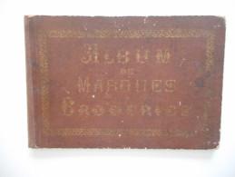BRODERIE, ANCIEN ALBUM DE MARQUES DE BRODERIES, ALPHABETS, MONOGRAMMES, AU BON MARCHE, N. ALEXANDRE - Books, Magazines, Comics