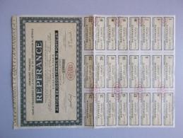 REPFRANCE - Action De 10.000 Francs Au Porteur - Actions & Titres