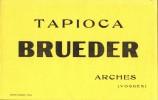 BUVARD  - Excellent Etat -  - TAPIOCA Brueder à Arches (Vosges) - Food