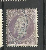 ITALIA ITALY Revenue Tax Fiscal Stamp O - 1878-00 Humbert I.