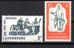 Luxembourg/Luxemburg 1960: MiNr. 618-619, ** MNH Postfrisch LUXUS-Erhaltung, Weltflüchtlingsjahr, Refugies, S. Scan - Luxemburg
