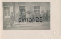 TREMBLECOURT - CARTE PHOTO MILITAIRE - 341 Eme??? - AVEC PRISONNIER ALLEMAND   (MILITARIA) - Francia