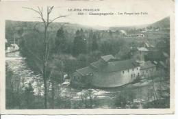 1083 - CHAMPAGNOLE - LES FORGES SUR L'AIN - Champagnole