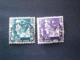 STAMPS PAESI BASSI INDIE OLANDESI 1934 -1937 Queen Wilhelmina - Niederländisch-Indien