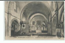 48 LE MALZIEU VILLE L'Intérieur De L'Eglise Paroissiale - France