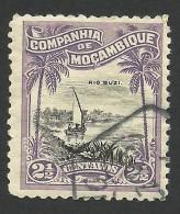 Mozambique Company, 2 1/2 C. 1918, Scott # 115, Used. - Mozambique