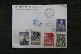 Enveloppe Timbrée Publicitaire , BRUXELLES, A.MENARINI, 10 Rue Philippe De Champagne.Timbres Cité Du VATICAN - Vatican