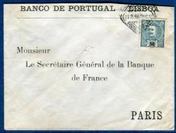 Portugal , Enveloppe De Lisbonne Pour La France Voir 2 Scans   Réf. 947 - Lettres & Documents