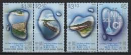 Hong Kong (2001) Yv. 969/72  /  Falls - Barrage - Presa - Water - Eau - Architettura
