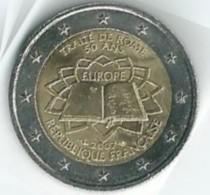 Pièce Commémorative 2 Euros 2007 Traité De Rome SUP - France