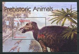 163 GAMBIE 2003 - Faune Prehistorique Dinosaure (Yvert BF 604) Neuf ** (MNH) Sans Trace De Charniere - Gambie (1965-...)
