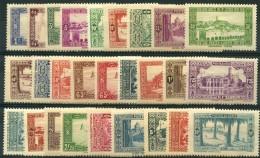 Algerie (1936) N 101 à 126 * (charniere)