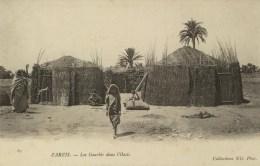 TUNISIE - ZARZIS - Les Gourbis Dans L´Oasis - Tunisia