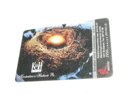 Gold Golden Egg Goldenes Ei 1996 Phonecard Hungary - Altri