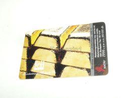 Gold Bar Goldbarren 1996 Phonecard Hungary - Andere