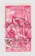 Schweiz UPU 1900 10Rp  #78A St Gallen 15.10.1900 Abart 2.05 Kugelfleck Hüfte - 1882-1906 Armoiries, Helvetia Debout & UPU