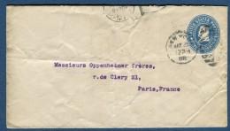 Etats Unis - Entier Postal Pour La France  Voir 2 Scans   Réf. 960