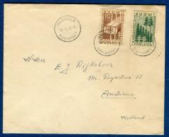 Finlande - Enveloppe De Grankulla Pour La Hollande En 1953    Voir 2 Scans   Réf. 962 - Finland