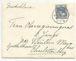 PAYS BAS LETTRE DE ENSCHEDE POUR L'ALLEMAGNE - Periode 1891-1948 (Wilhelmina)