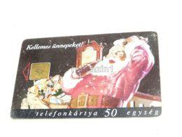 Coca Cola Santa Claus 1997 Phonecard Hungary - Food