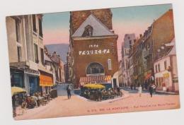 LE MONT-DORE ----RUE FAVART ET RUE MARIE THERESE----CAFE DES SOURCES - Le Mont Dore