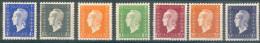France - 1945 -  Marianne De Dulac  Y&T N° 695/696/697/698/699/700/701 ** Neuf Luxe (gomme D´origine Intacte). - France