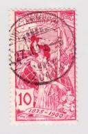Schweiz UPU 1900 10Rp  #78C Gestempelt  Unt-Stammheim (ZH) 27.3.1900 - 1882-1906 Wappen, Stehende Helvetia & UPU